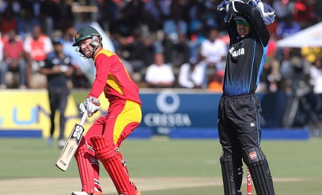 Zimbabwe beat New Zealand by 7 wickets in the 1st ODI