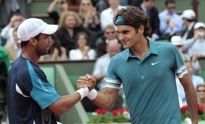 2015 French Open First Round: Federer Vs Falla