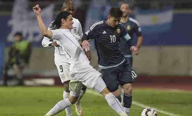 argentina vs uruguay
