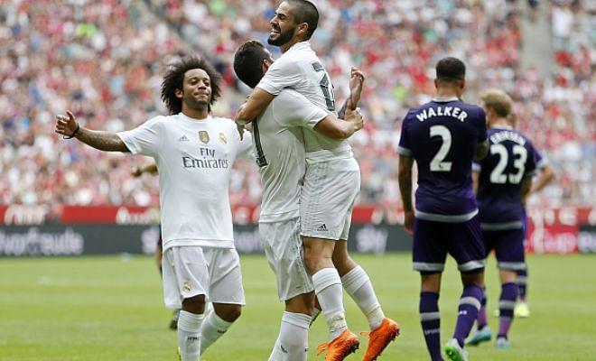 Audi Cup: Real Madrid beat Tottenham 2-0