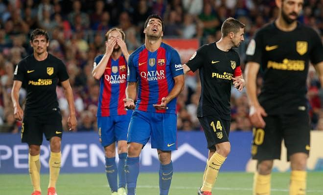 barcelona vs atletico madrid last match result