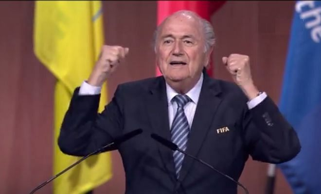 Blatter re-elected as FIFA President - Twitter Reactions