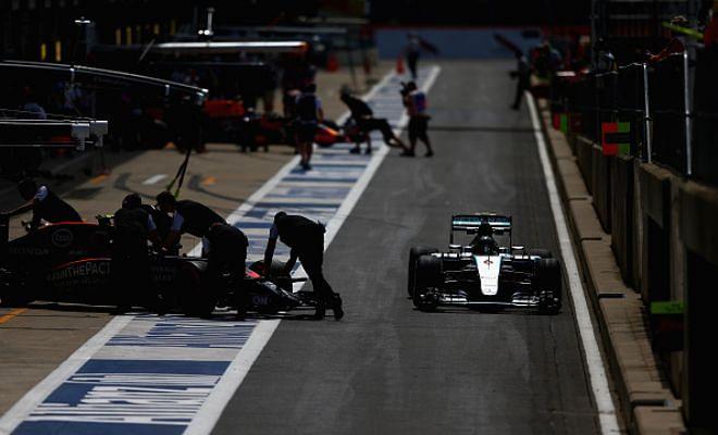 British Grand Prix qualifying