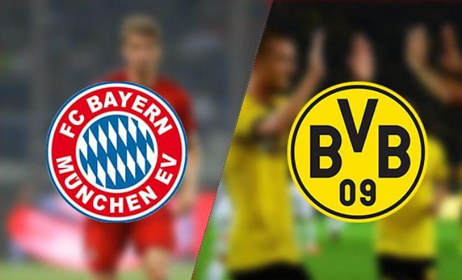 Bundesliga LIVE: Bayern Munich vs Borussia Dortmund