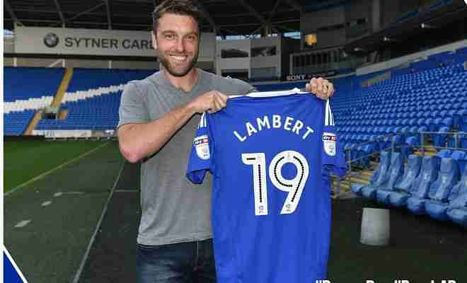JUST IN : RICKIE LAMBERT HAS JOINED CARDIFF FOR AN UNDISCLOSED FEE