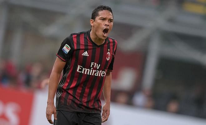 WEST HAM KEEPING TABS ON BACCAWest Ham are keen to sign AC Milan striker Carlos Bacca, according to reports in Italy. The reports suggests the Hammers want Bacca to replace Simone Zaza, who will leave Hammers in January after just six months of his loan spell from Juventus.