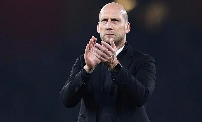 Stam to rival Giggs for Swansea job De Telegraaf in the Netherlands has reported that former Manchester United defender Jaap Stam is the frontrunner to replace Bob Bradley at Swansea. Stam currently manages Reading - who are sitting strong in 3rd position in the championship. This was in contrast to Sky Sports reporting that Ryan Giggs was the frontrunner to manage the Welsh outfit.