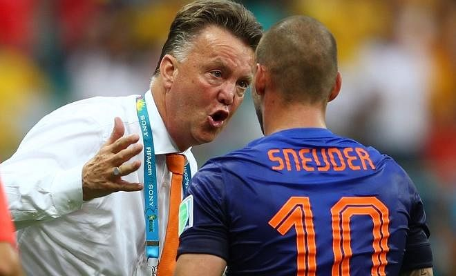 Wesley Sneijder slams Louis van GaalSneijder said Van Gaal is the