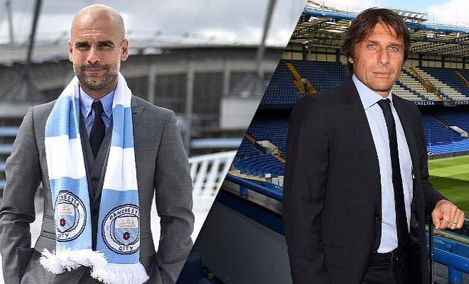 "Manchester City welcome Antonio Conte's Chelsea to the Etihad Stadium, and Pep Guardiola was all praise for his opposition manager. ""Conte is without doubt one of the best, maybe the best, coach in the world right now. [Chelsea] were contenders to win the Premier League from the beginning."