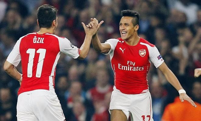 According to the Evening standard, Arsenal players Alexis Sanchez and Mesut Ozil want new contracts that match France midfielder Paul Pogba's current wages of £290,000 a week. The Gunners do not want to break the £200,000 mark however.