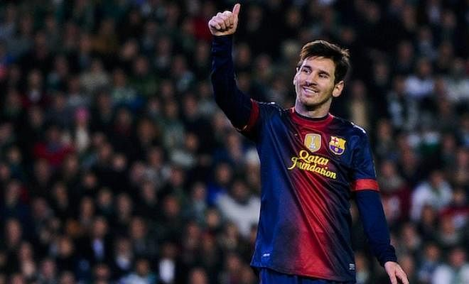 On this day in 2012, Lionel Messi broke Gerd Muller's record for most goals in a calendar year. He went on to score 91!