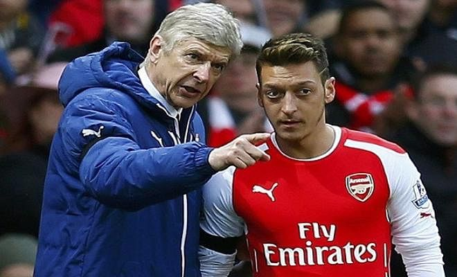 WENGER IS CONVINCED OZIL WILL SIGN A NEW DEALThe French coach said of the contract issue