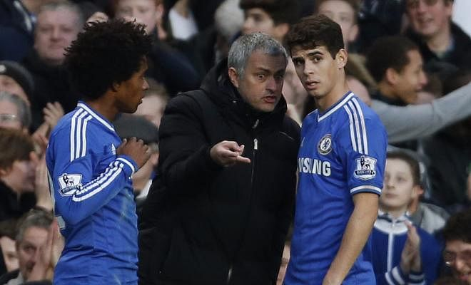 """""""[Oscar] has already said goodbye, a good friend who goes away, but we wish the best for him and his family as well,"""" his teammate Willian said in an interview with a Brazilian journalist"""