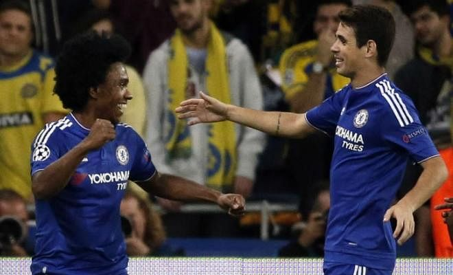 WILLIAN CONFIRMS THAT OSCAR IS SET TO LEAVE CHELSEA