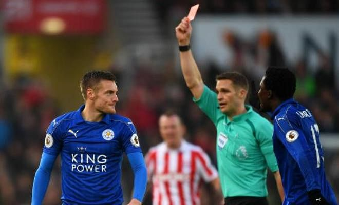 Players who are suspended during the Christmas period in the premier league:Jamie Vardy, Christian Fuchs, Robert Huth (Leicester City)Diego Costa, N'Golo Kante (Chelsea)Sergio Aguero (Manchester City), Marko Arnautovic (Stoke City), Pedro Obiang (West Ham), Matthew Lowton (Burnley)