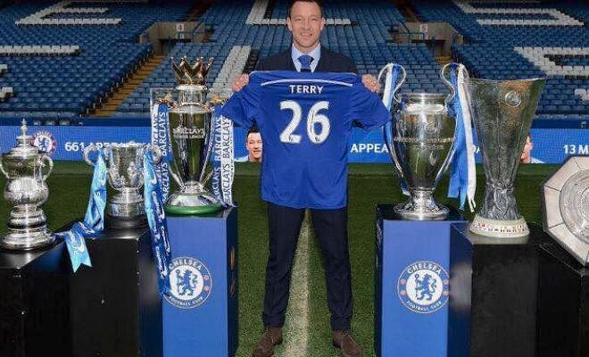 John Terry will replace Steve Holland as Chelsea's assistant manager at the end of this season if he decides to retire, according to Sky Italia. The Blues skipper has not been offered a contract extension and could become a free agent at the end of the season.