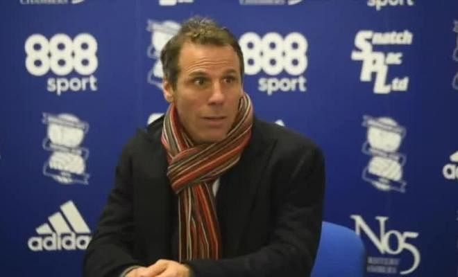 ZOLA COULD LOAN CHELSEA YOUNGSTERSBirmingham City's new manager, Gianfranco Zola, could look to use his Chelsea connection to loan young talent in January.