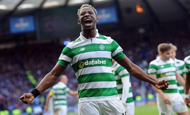 CITY AND LIVERPOOL TO BATTLE IT OUT FOR DEMBELE?Manchester City will battle Liverpool for Celtic star Moussa Dembele, according to The Sun. Dembele has scored 17 goals for Celtic after signing from Fulham in the summer. Liverpool scouts have also regularly watched the striker this season.