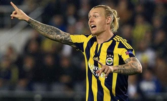 According to Turkish media outlet fanatik,, Chelsea manager Antonio Conte is set to swoop in for Fenerbache's Simon Kjaer in a bid to bolster his side's defensive options in January. The 27-year-old Dane has played 35 games for the Turkish giants since joining from Lille in 2015 and is highly rated.