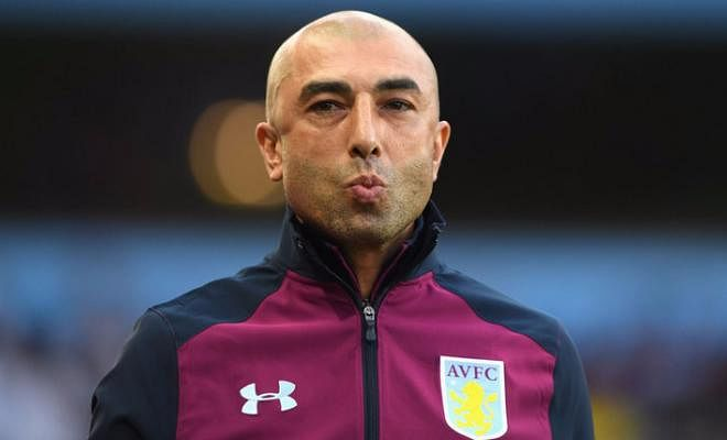 DI MATTEO SACKEDRoberto Di Matteo has been sacked by Aston Villa following a dismal start to the season. He won 1 of his 12 games in charge.