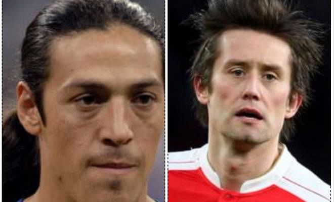 HAPPY BIRTHDAY BOYS!October 4 is the birthday of footballers Tomas Rosicky (36 today) and Mauro Camoranesi (40 today).