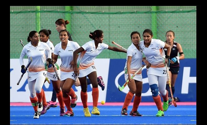 HWL semis - Women: India vs Japan