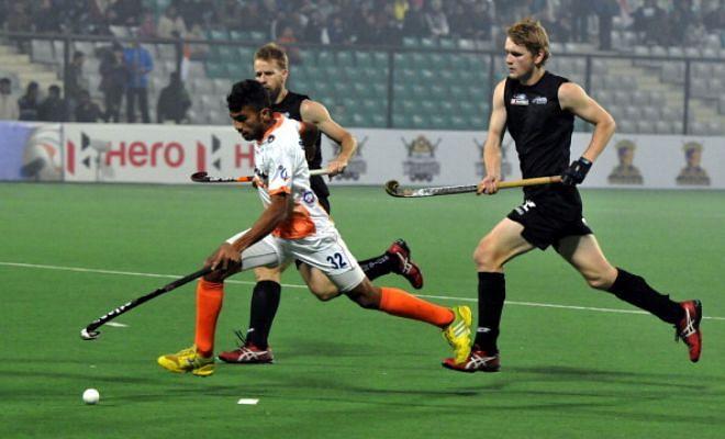 India beat New Zealand 3-2