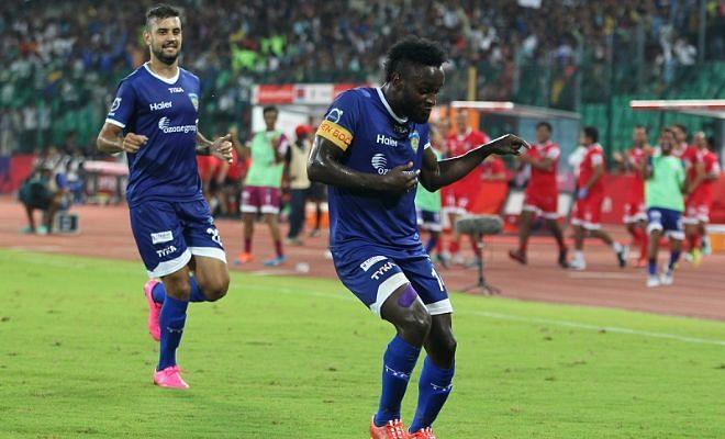 ISL: Chennaiyin FC 4-0 Delhi Dynamos