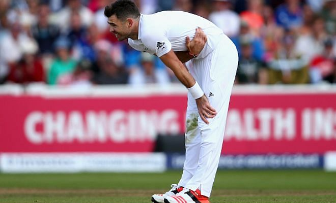 James Anderson ruled out of the 3rd and 4th Ashes series