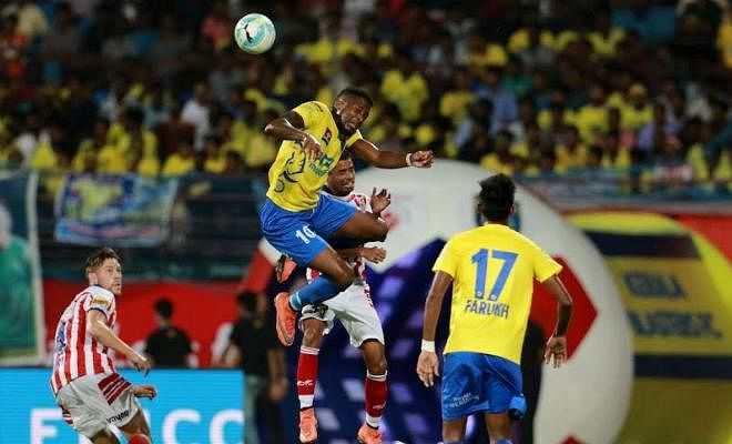 60,000 Malayalees go home disappointed but having seen the best 1-0 game they probably ever will. It was end-to-end, fast, with some decent touches from both sets of players. Kolkata's wing play - especially Doutie on the right - was exceptional, and they held their own in the middle of the park. They look like pretty strong contenders for the title here!Arguably the most ridiculous stat of the match was that Kerala had 0 shots on target, and they were behind Kolkata in all the stats comparisons - most importantly, of course, in the one that mattered most. This describes Kerala's match in a microcosm - they seemingly bossed the game but were behind at the end of it all. The Kaloorstadion crowd was simply exceptional, and it really felt like they could have pushed Kerala over the line. The home crowd deserves better results - and Coppell's men will be acutely aware of that!It's been an absolute pleasure bringing this match to you! Anirudh Menon signing out, thanks so much for reading, and enjoy reading our superb collection of EXCLUSIVE interviews. Toodle - ooo!!