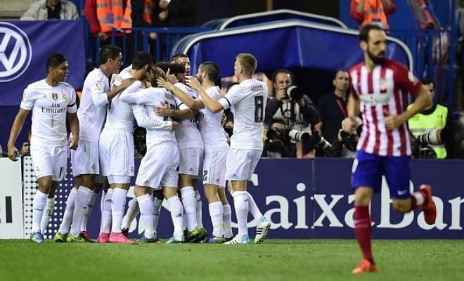 La Liga: Atletico Madrid vs Real Madrid