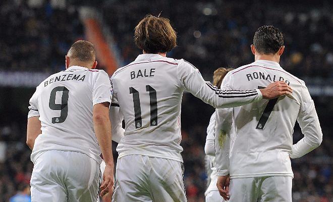Liga BBVA: Real Madrid 4-2 Athletic Bilbao