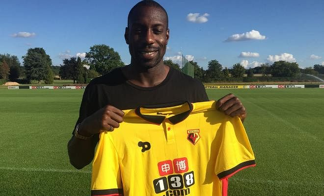 HORNETS MAKE OKAKA SIGNINGWatford have signed Italy striker Stefano Okaka from Anderlecht on a five-year deal for an undisclosed fee. The Italian scored 17 goals last season as Anderlecht reached the last 16 of the Europa League and has also played in the Premier League before.