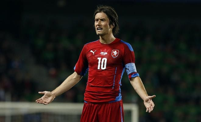 ROSICKY REUNITES WITH FORMER CLUBFormer Arsenal player, Tomáš Rosicky has rejoined boyhood club, Sparta Prague on a two-year deal. The Czech Republic midfielder played for a decade at Arsenal and will now be happy to return to his homeland.
