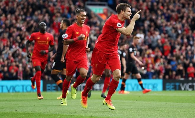 Another brilliant performance by Liverpool. They were on the front foot right from the very first minute.Lallanascored the first of many on the night just over a quarter of an hour into the game.Milnerthen doubled the advantage from the penalty spot on the half hour mark.Mane put the game beyond Hull's reach with the third goal just six minutes later.Meyler then pulled one back for the visitors in the second half, but that was almost immediately followed byCoutinho's sweet long strike in the 52nd minute.Milnercompleted the rout with another penalty in the 71st minute, and that capped off a supremely dominant performance from Jurgen Klopp's Liverpool.