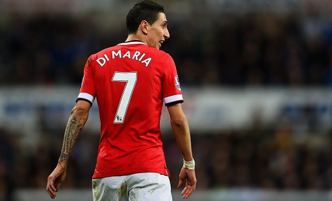 United fans blast Di Maria for his imminent PSG transfer