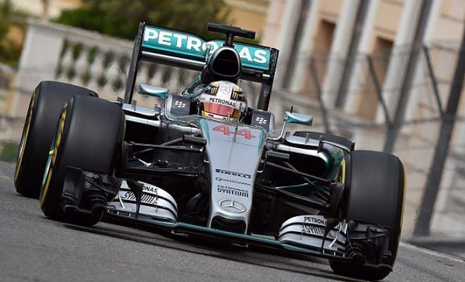 Monaco Grand Prix: Lewis Hamilton grabs pole position