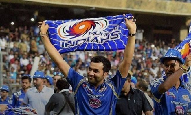 Mumbai Indians celebrate IPL success at Wankhede