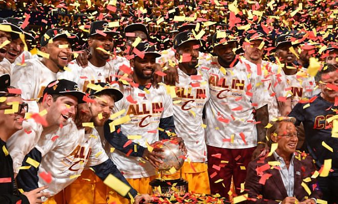 NBA Conference Finals: Cleveland Cavaliers progress to the Finals
