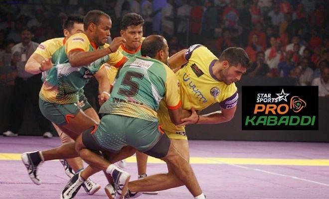 Patna Pirates vs Telugu Titans - Star Sports Pro Kabaddi