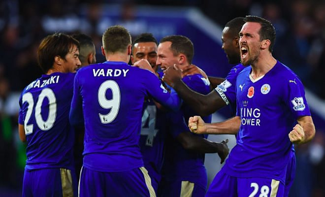 Premier League LIVE: Manchester City vs Leicester City