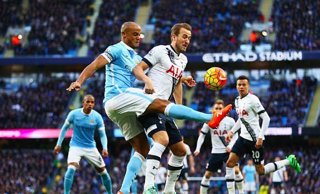 Premier League: Manchester City 1 - 2 Tottenham