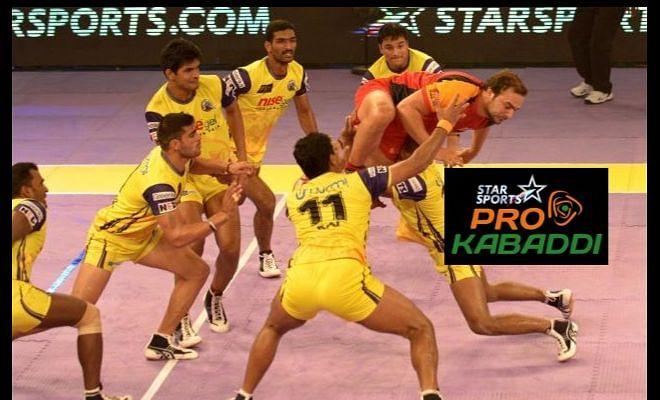 Pro Kabaddi: Telugu Titans vs Bengaluru Bulls