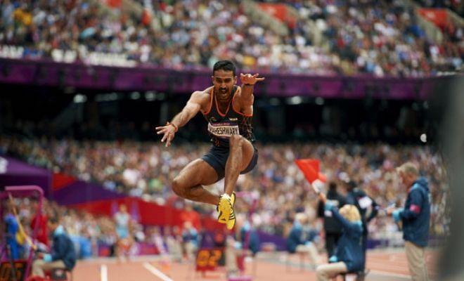rio olympics 2016  india u0026 39 s renjith maheshwary in men u0026 39 s