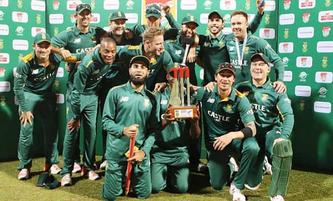 South Africa beat New Zealand by 62 runs to win series 2-1