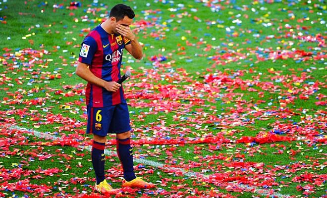 Twitter bids emotional farewell to Xavi