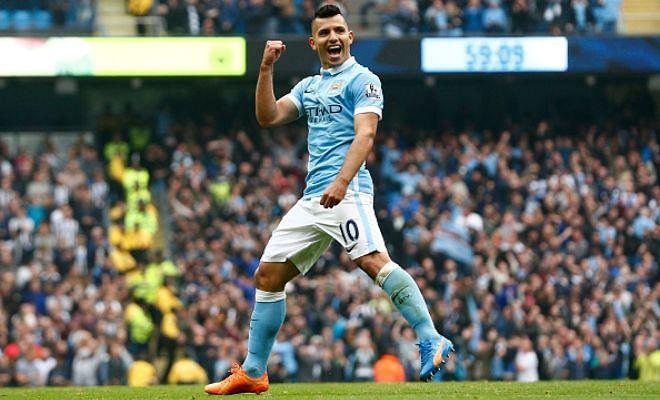 Twitter hails Sergio Aguero after 5-goal rampage