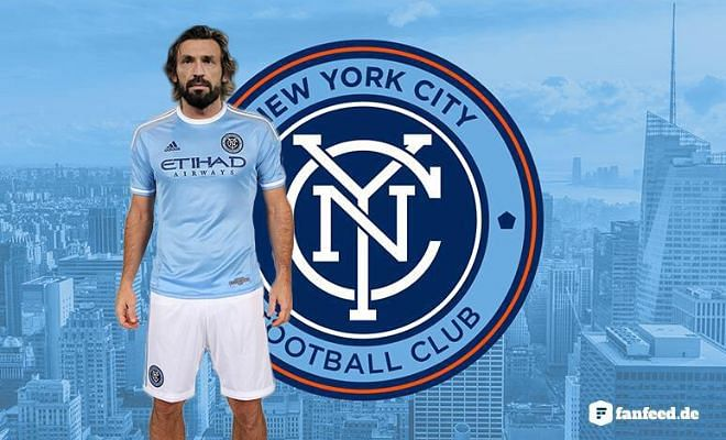 Twitter pays tribute as Andrea Pirlo moves to New York City