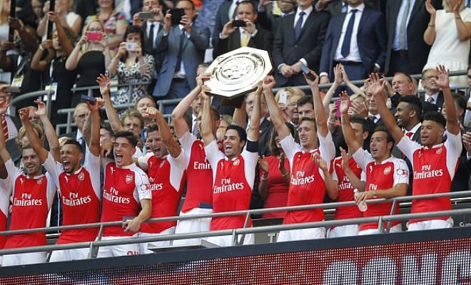 Twitter reacts to Arsenal's Community Shield win