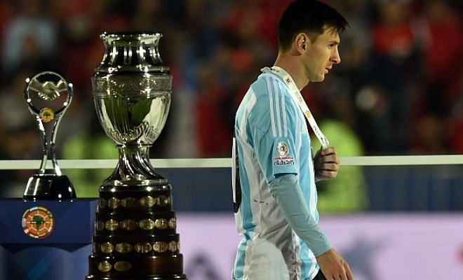Twitter reacts to Argentina failing again in a final
